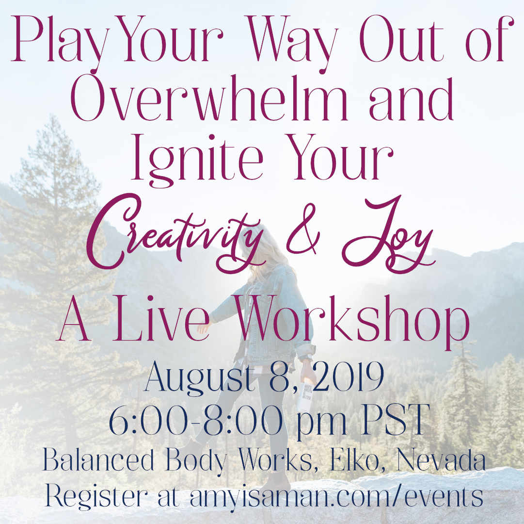 play your way out of overwhelm wksp