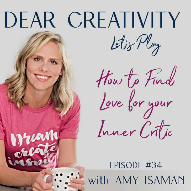 love your inner critic podcast graphic